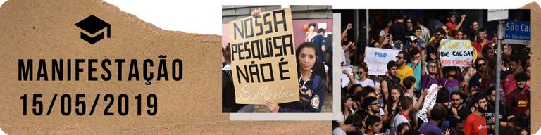 Manifestação 15/05/2019