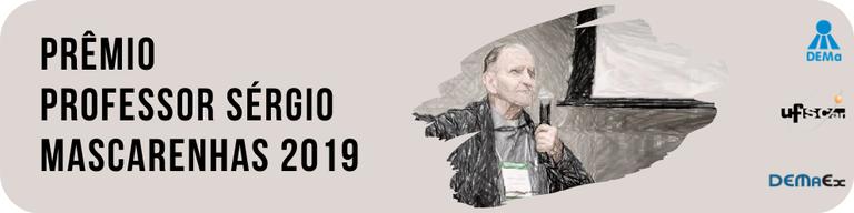 Prêmio Professor Sérgio Mascarenhas 2019