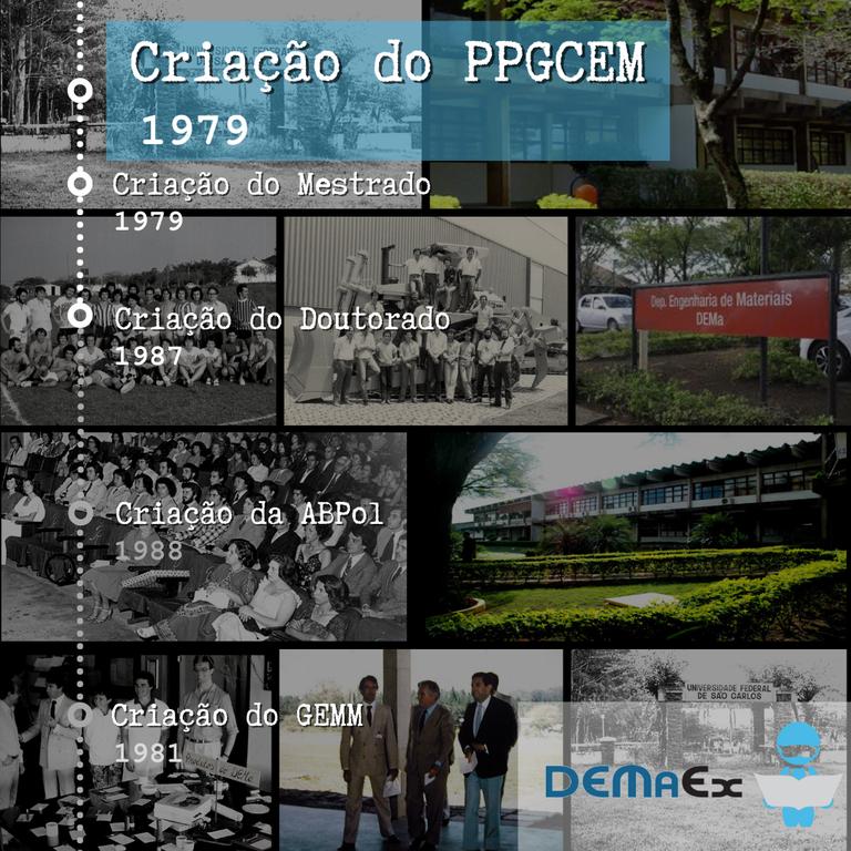 Resgatando nossa história - PPGCEM